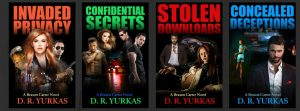 All four book covers by D.R. Yurkas