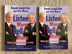 Listen More Sell More sales-training series of books